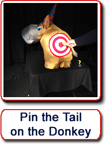 Pin the Tail on the Donkey