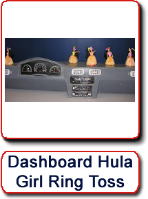 Dashboard Hula Girl Ring Toss