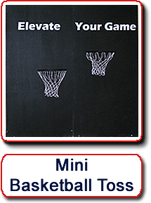 Mini Basketball Toss