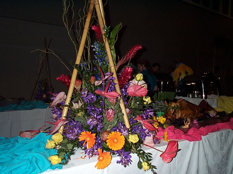 buffet centerpiece