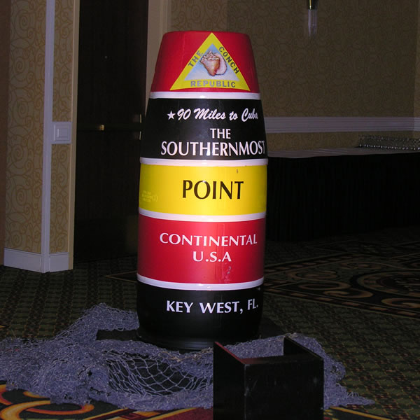 southernmost point prop