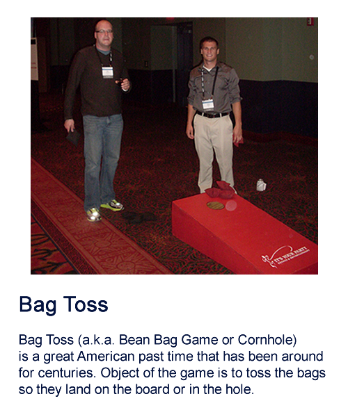 Bean Bag Toss/Cornhole