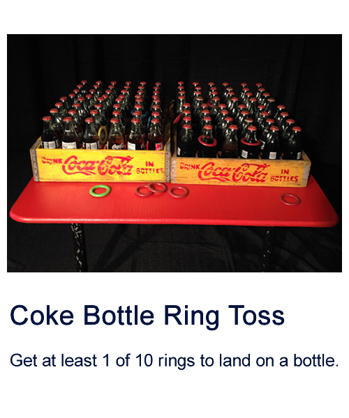 Coke Bottle Ring Toss