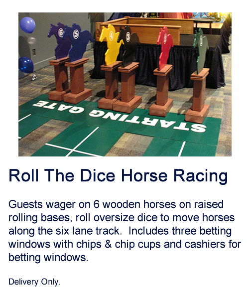 Roll the Dice Horse Racing
