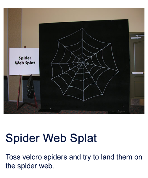 Spider Web Splat