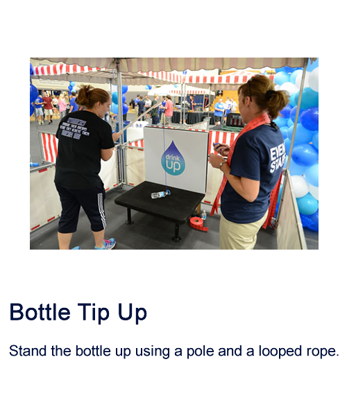 Bottle Tip Up